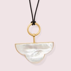 Kate Spade Cloud Mother of Pearl Pendant - NEW!